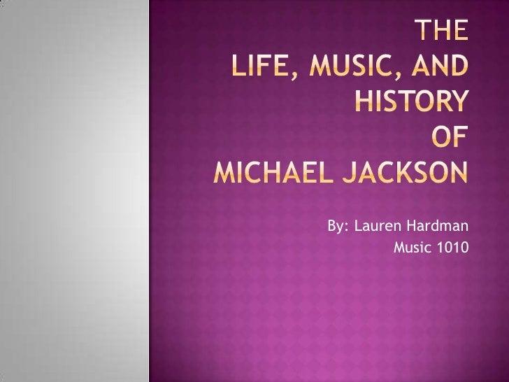 Revised michael jackson presentation