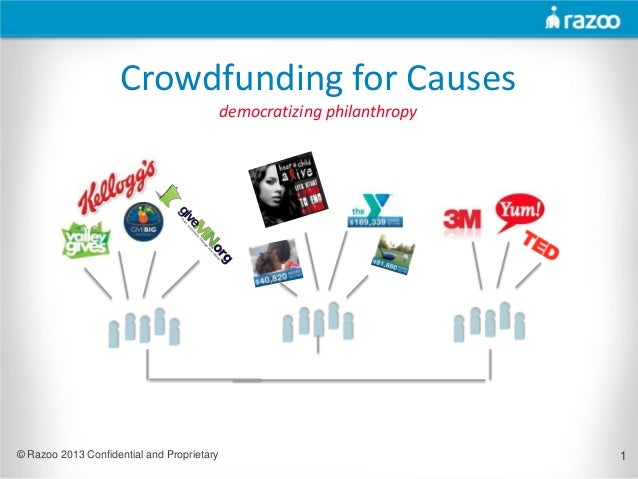 Crowdfunding for Causes                                            democratizing philanthropy© Razoo 2013 Confidential and...