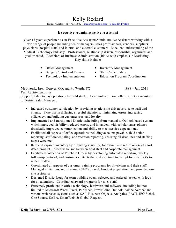 kelly redard resume