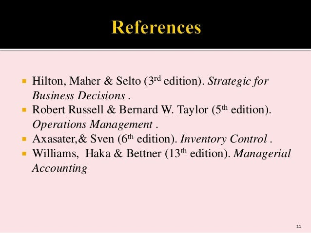 operations management russell and taylor 6th edition pdf