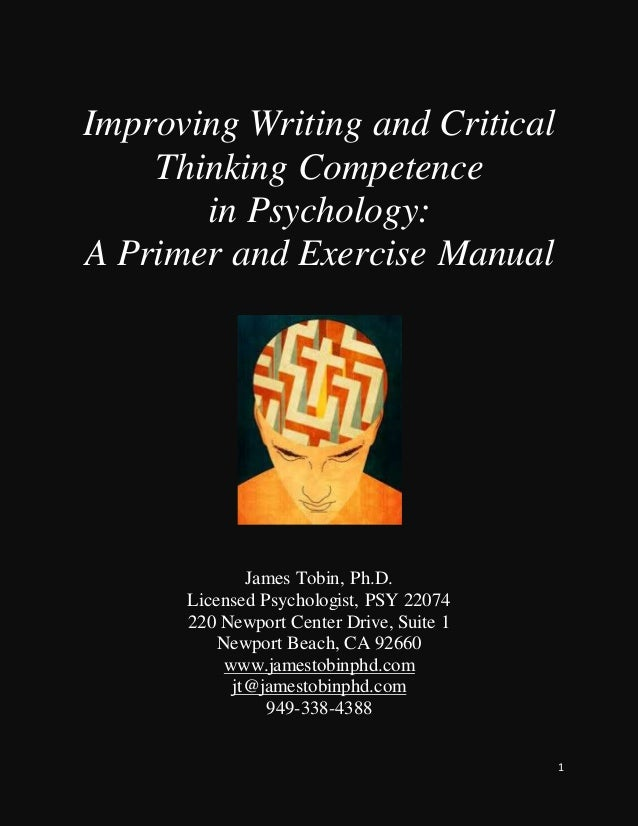 enhancing college students critical thinking Data synthesis: the development of critical thinking has been the topic of many educational articles recently numerous instructional methods exist to promote thought and active learning in the classroom, including case studies, discussion methods, written exercises, questioning techniques, and debates.