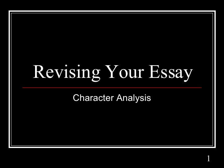 revising your thesis There's got to come a point where you just submit your thesis and get on  so  here are a few guidelines to revising your thesis from one draft to.