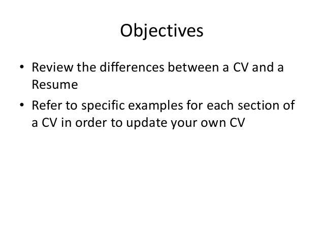 Revising My Resume?