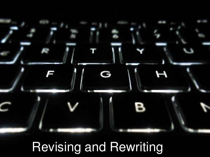 Revision and Rewriting