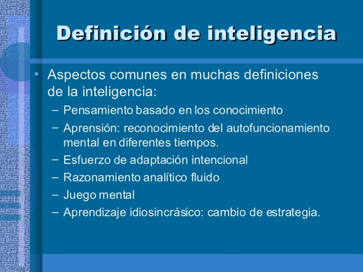 Revision historica y teorias sobre la inteligencia for Definicion de beta