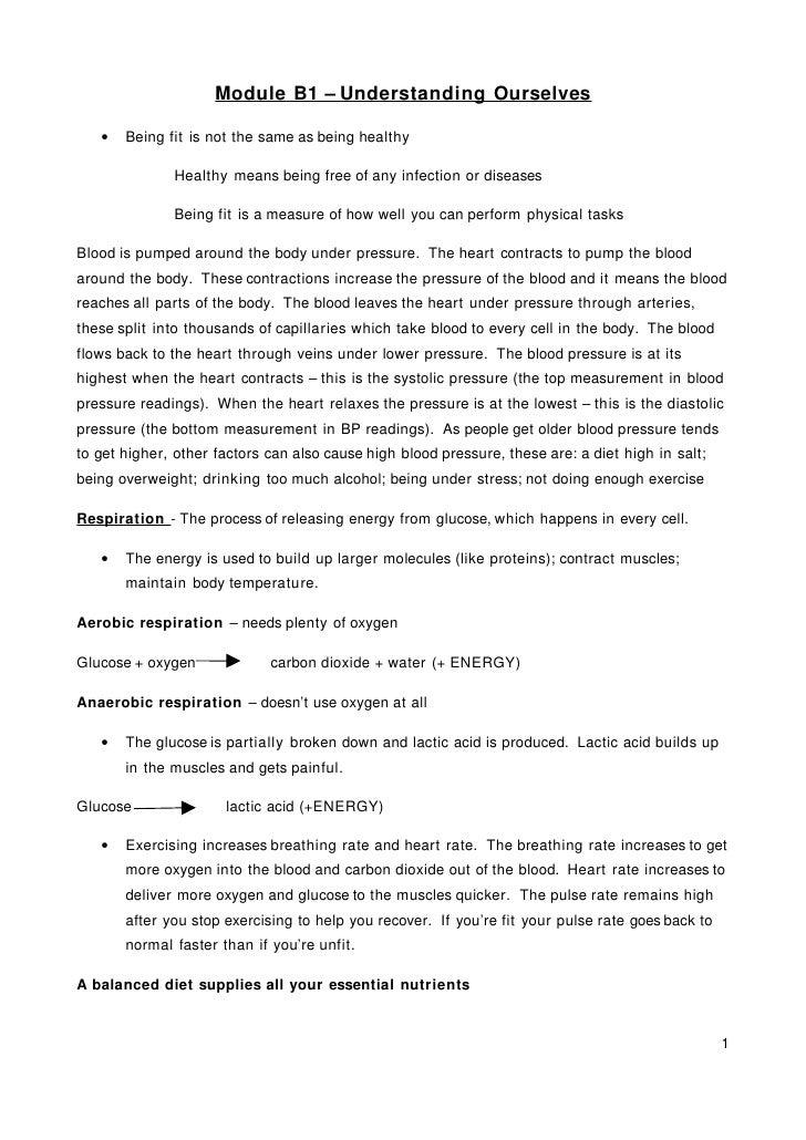 module B1 Understanding Ourselves