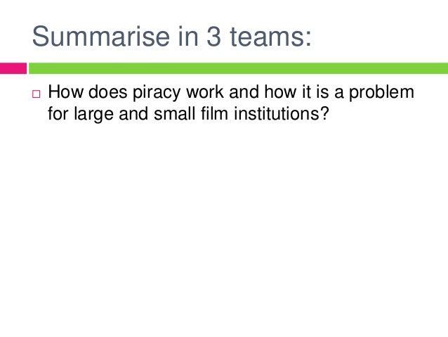 Film Piracy Essay