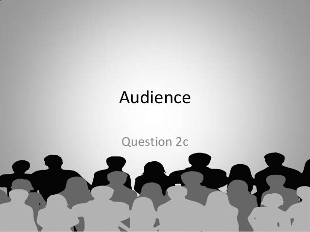 Revision 1  - Audience case study
