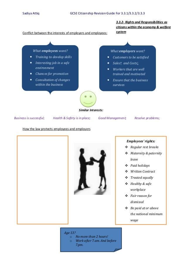 Citizenship coursework