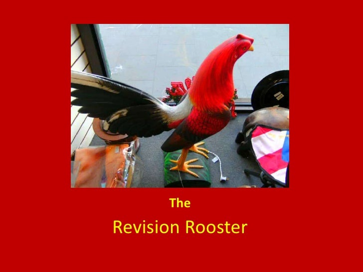 The<br />Revision Rooster<br />