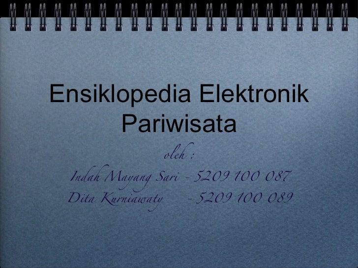 Ensiklopedia Elektronik Pariwisata