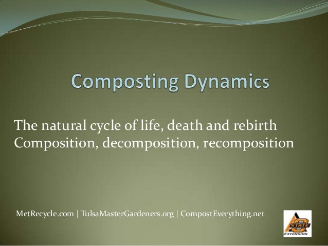 Revisiting Composting Dynamics