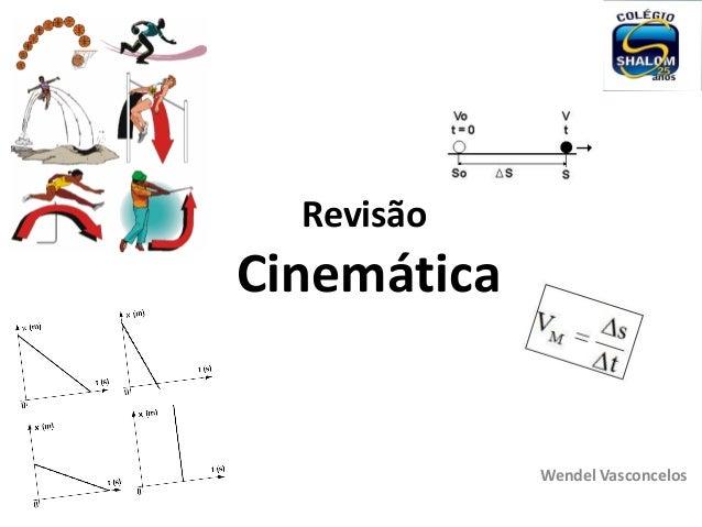 RevisãoCinemáticaWendel Vasconcelos