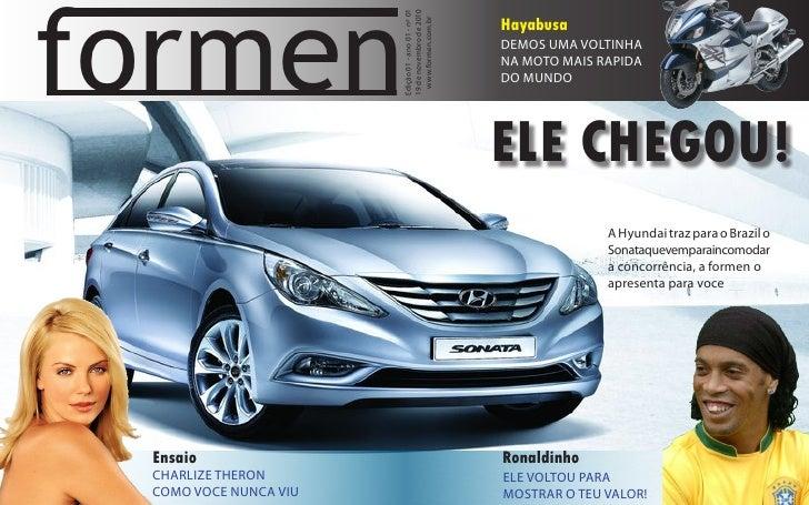 formen                       Edição 01 - ano 01 - nº 01                       19 de novembro de 2010                      ...