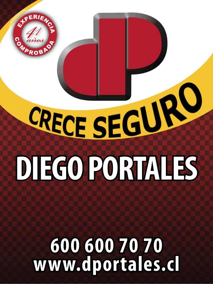 DIEGO PORTALES  600 600 70 70 www.dportales.cl