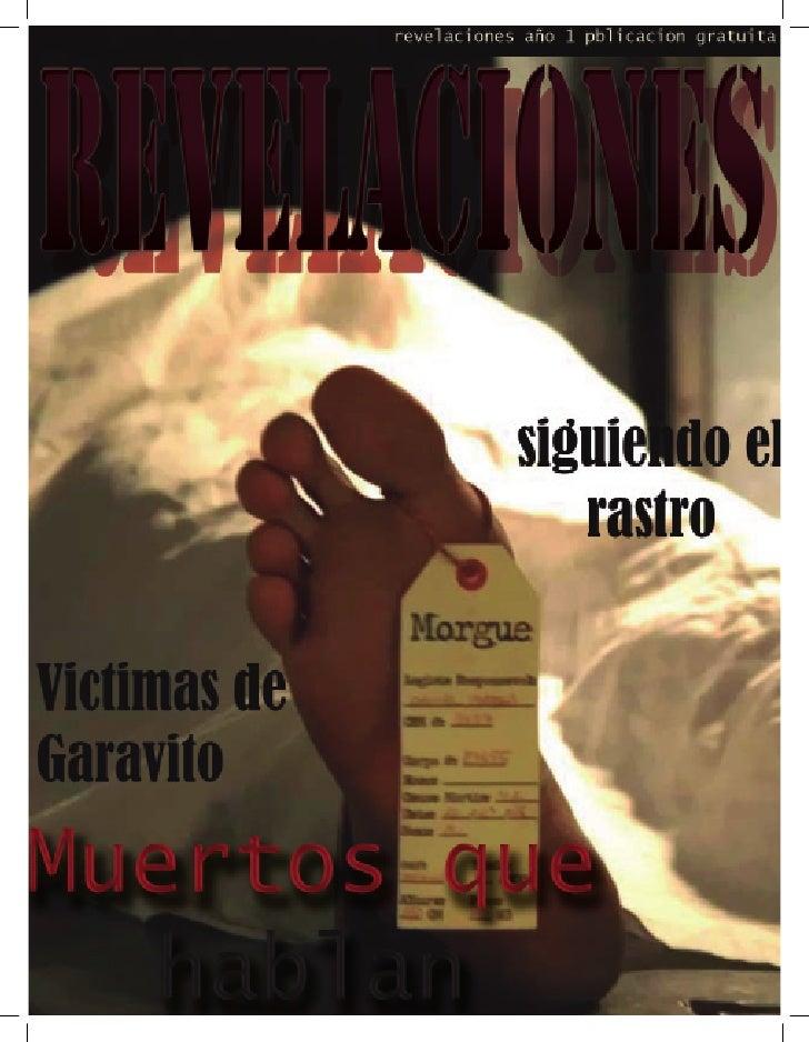 Contenido REVELACIONES Mentes CriminalesDireccion general:                                                  5Angie Lorena ...