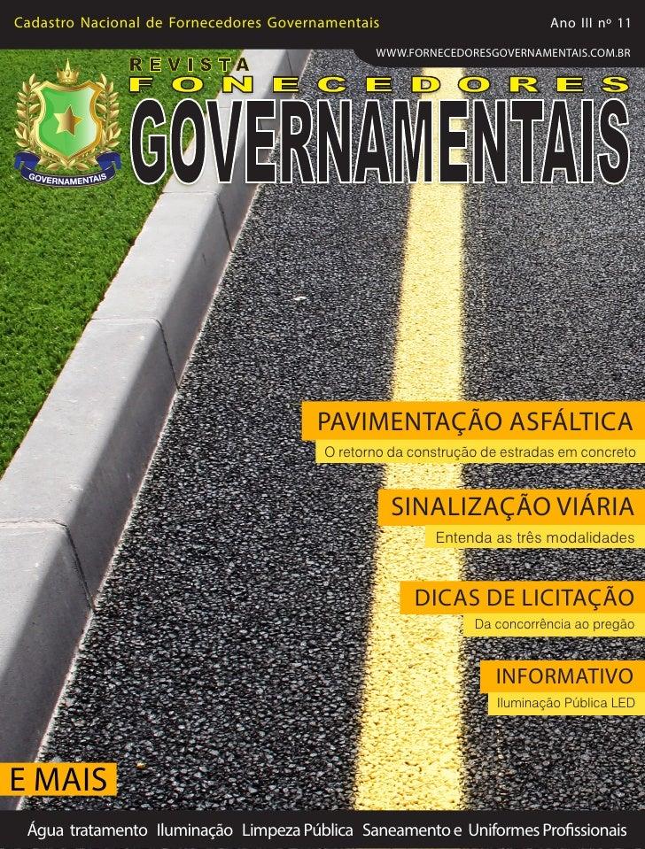 RevistaFornecedores Governamentais 11