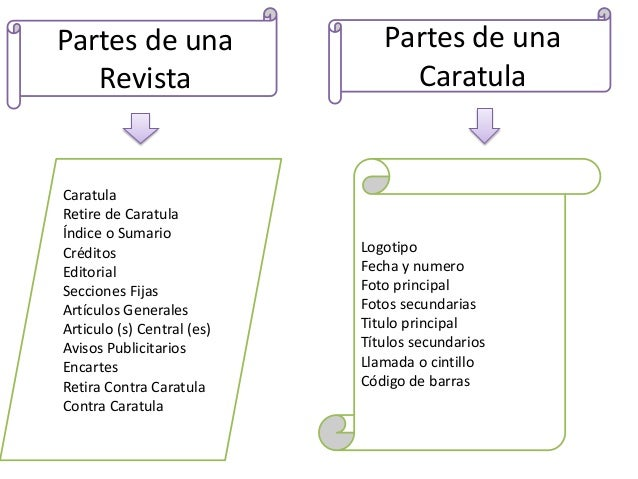 Estructura de una revista - photo#1