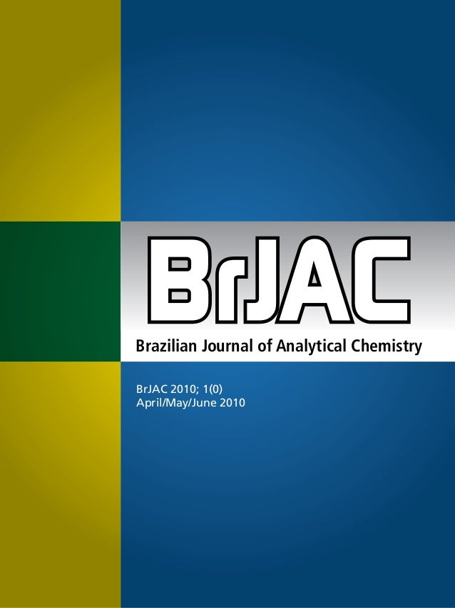 Revista   brazilian journal of analytical chemistry - 1
