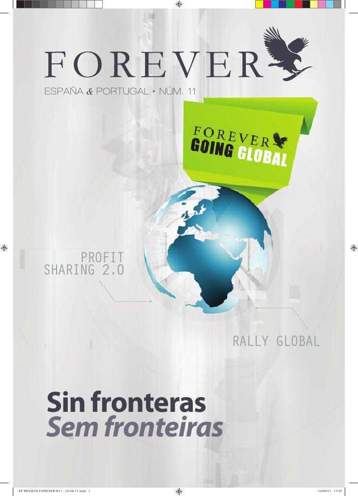 Revista.Forever España y Portugal.Sep.2011.número 11