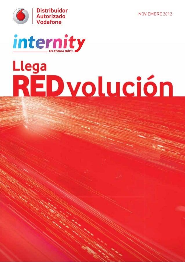 Revista Internity Vodafone Noviembre