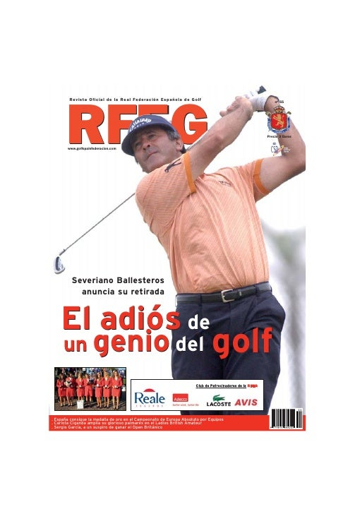 Revista RFE de Golf Agosto 07