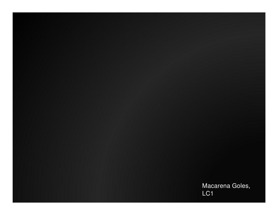 Macarena Goles, LC1