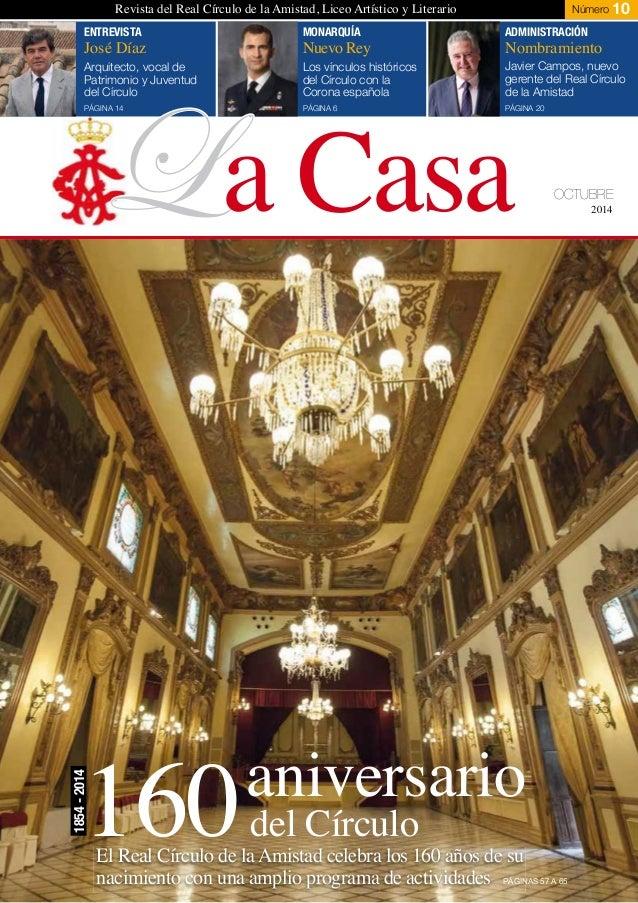 Revista la casa del real c rculo de la amistad c rdoba n 10 for La casa del retal