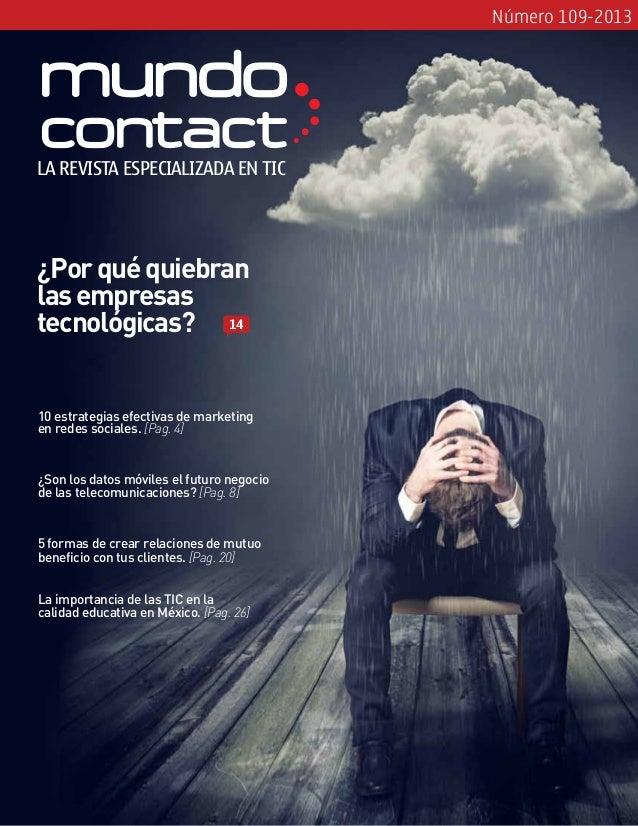 Revista Mundo Contact Agosto 2013