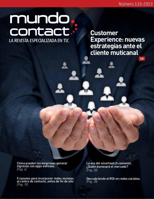Revista Mundo Contact Septiembre 2013