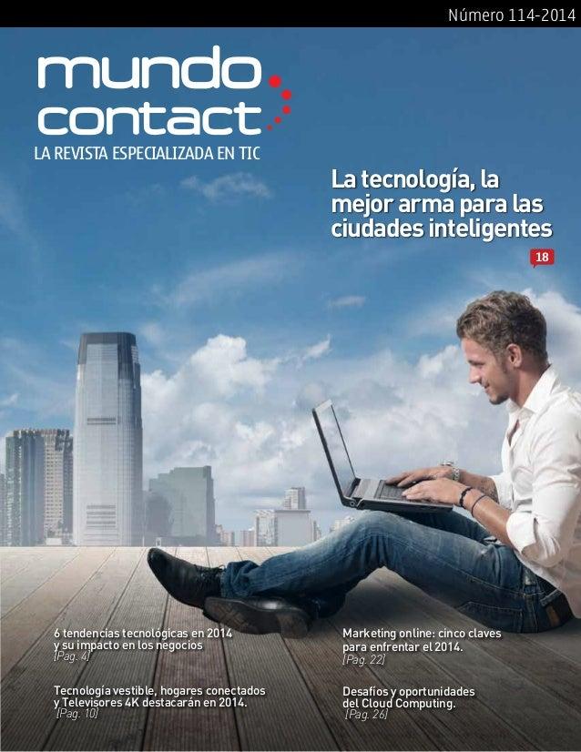 Revista Mundo Contact Enero 2014