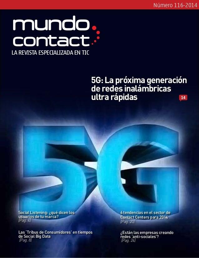 Revista Mundo Contact Marzo 2014
