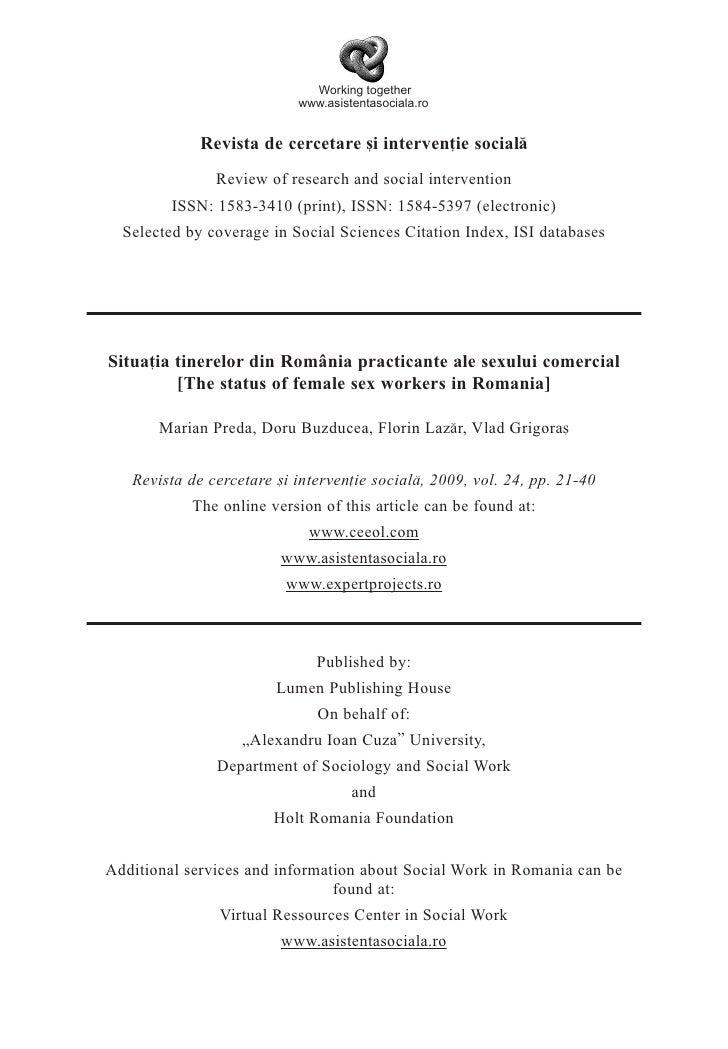 Working together                            www.asistentasociala.ro                Revista de cercetare [i interven]ie soc...