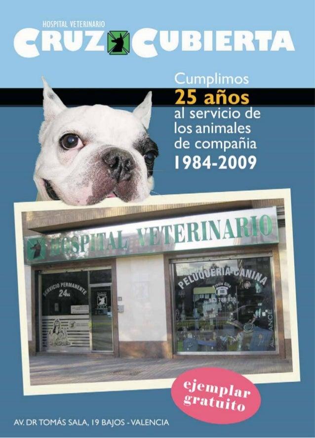 Revista 25 aniversario Hospital Veterinario Cruz Cubierta