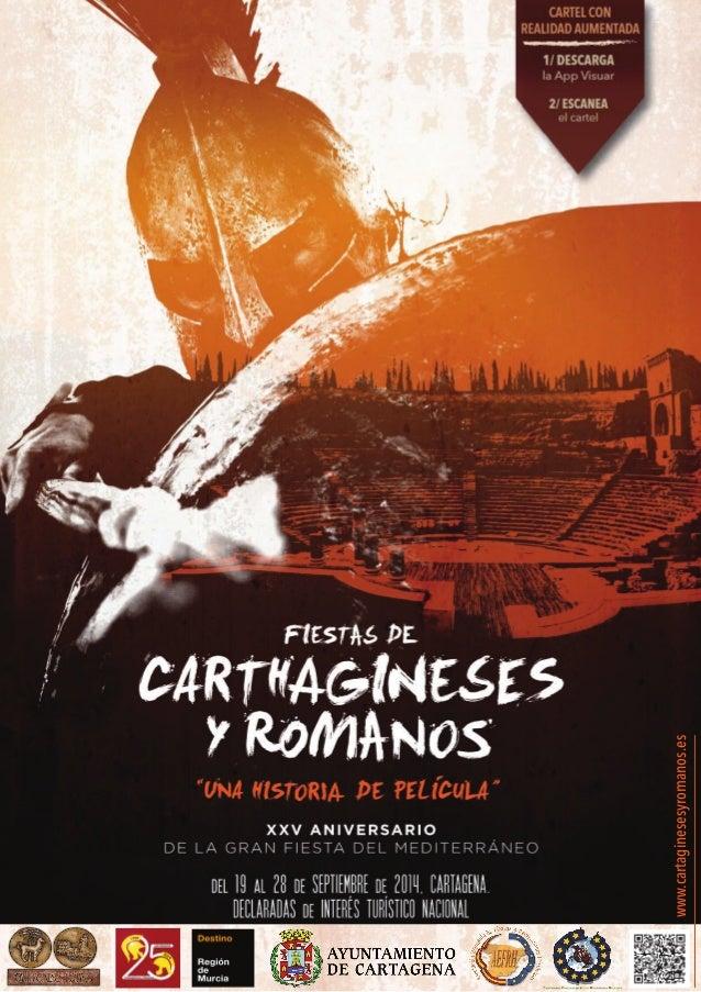 REVISTA DEL 25 ANIVERSARIO CARTHAGINESES Y ROMANOS