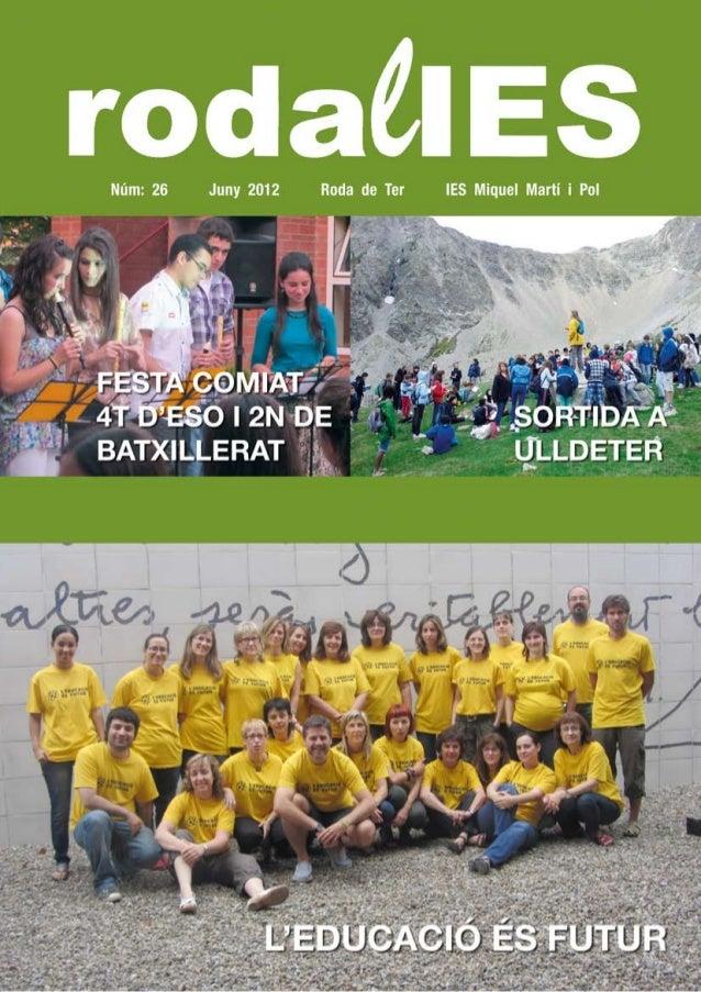 Revista 2011-2012. 3r Tri