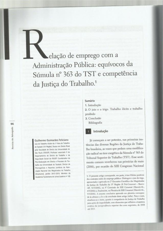 Revista aasp nov 2013 n 121 relacao de emprego com a administraç