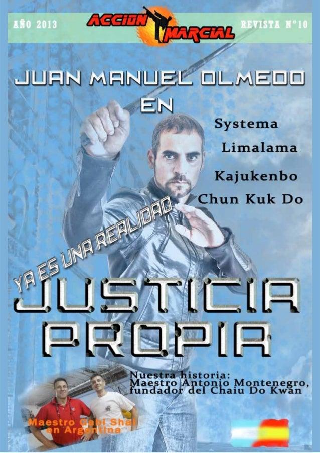 ÍNDICE ACCIÓN MARCIAL ACCIÓN MARCIAL Maestro Antonio Montenegro: FUNDADOR DEL CHAIU DO KWAN 05 NUESTRA HISTORIA ENCICLOPED...