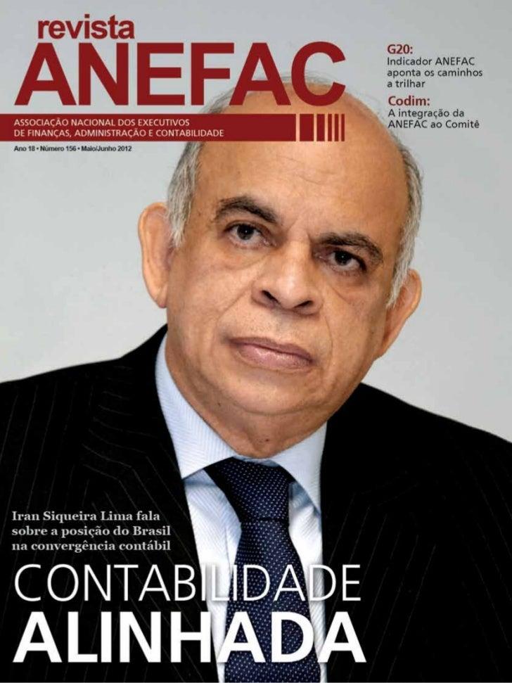 revista ANEFAC   • Maio/Junho 2012 1