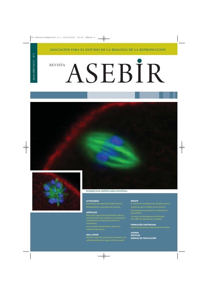 Revista Asebir junio 2010