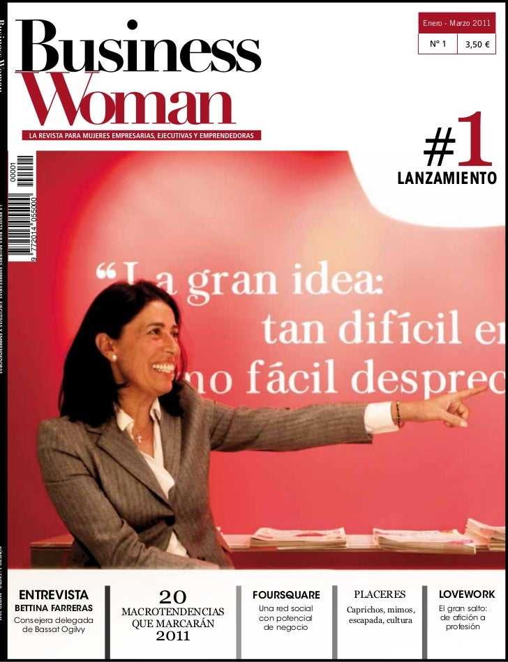 Revista business woman 1