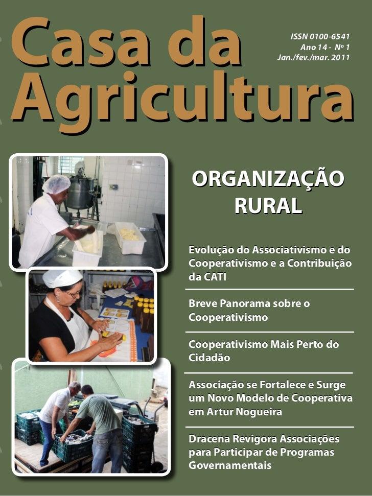 Casa da                 ISSN 0100-6541                           Ano 14 - Nº 1Agricultura                     Jan./fev./ma...