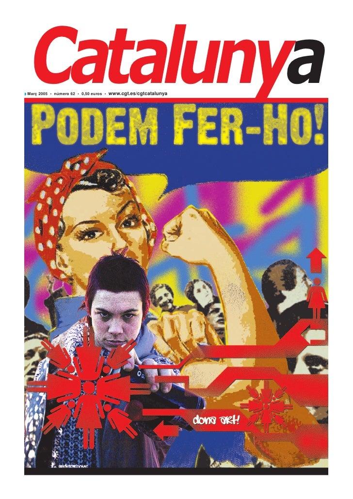 Revista Catalunya 62 març 2005 CGT