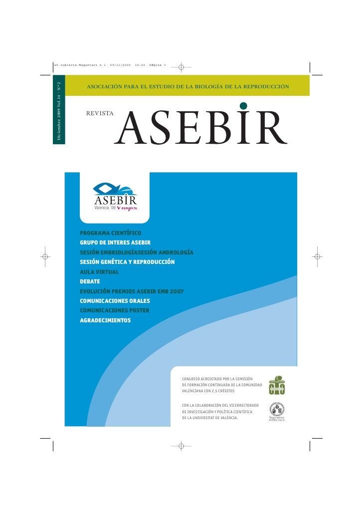 Revista Asebir Diciembre 2009