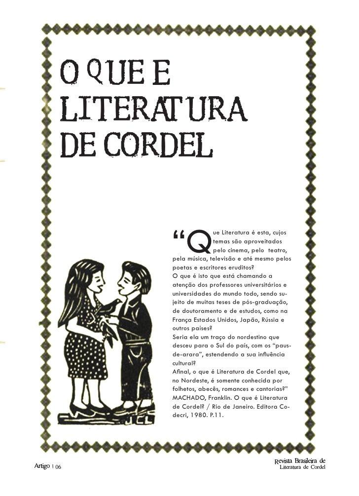 Leitura de cordel online dating