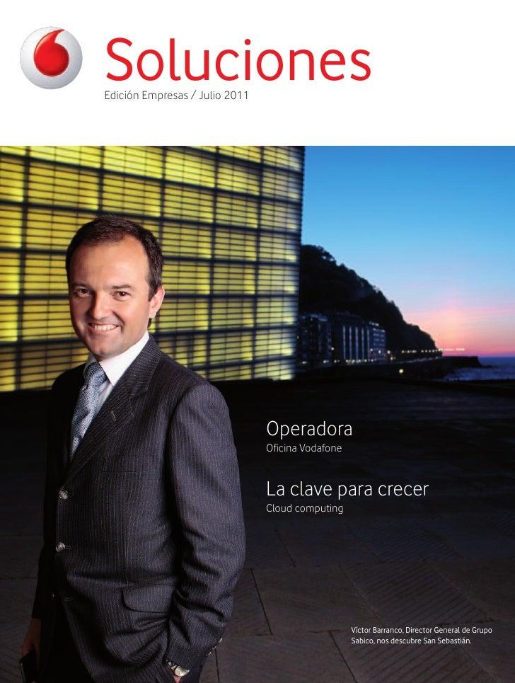 SolucionesEdición Empresas / Julio 2011                                Operadora                                Oficina Vo...