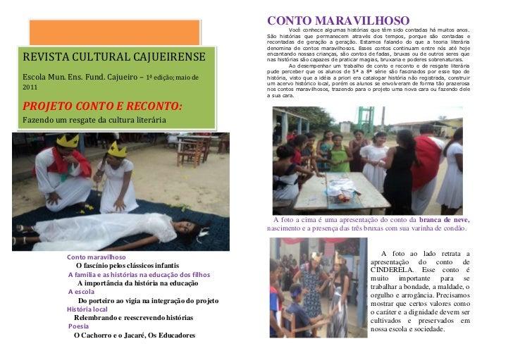 Revista cultura cajueirense