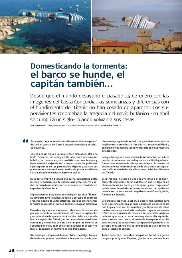 Artículo de Tomás Matesanz. Revista de Comunicación