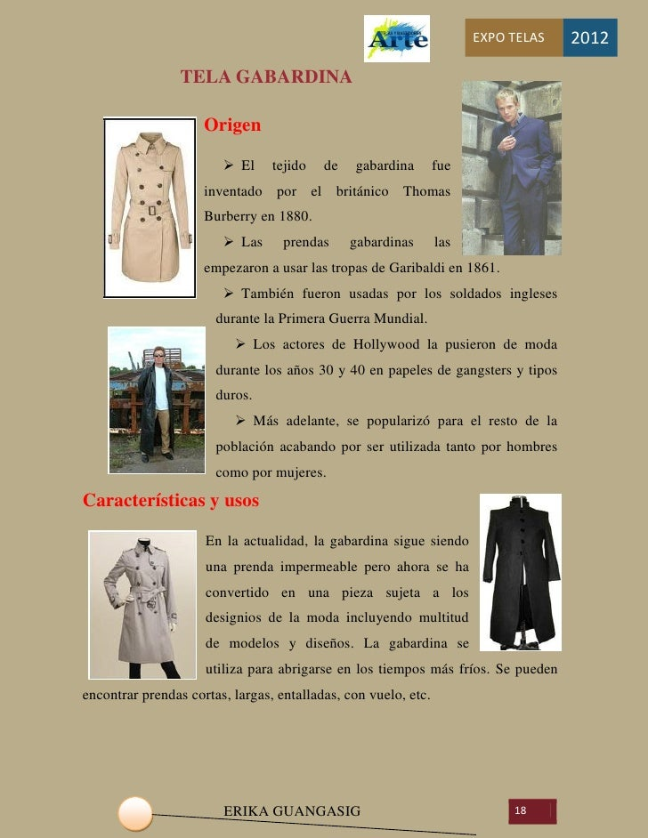 Tipos de telas caracter sticas y usos for Marmol caracteristicas y usos