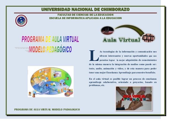 UNIVERSIDAD NACIONAL DE CHIMBORAZO                           FACULTAD DE CIENCIAS DE LA EDUCACION                      ESC...
